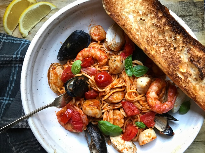 Pasta from Scratch with Fresh Atlantic Seafood