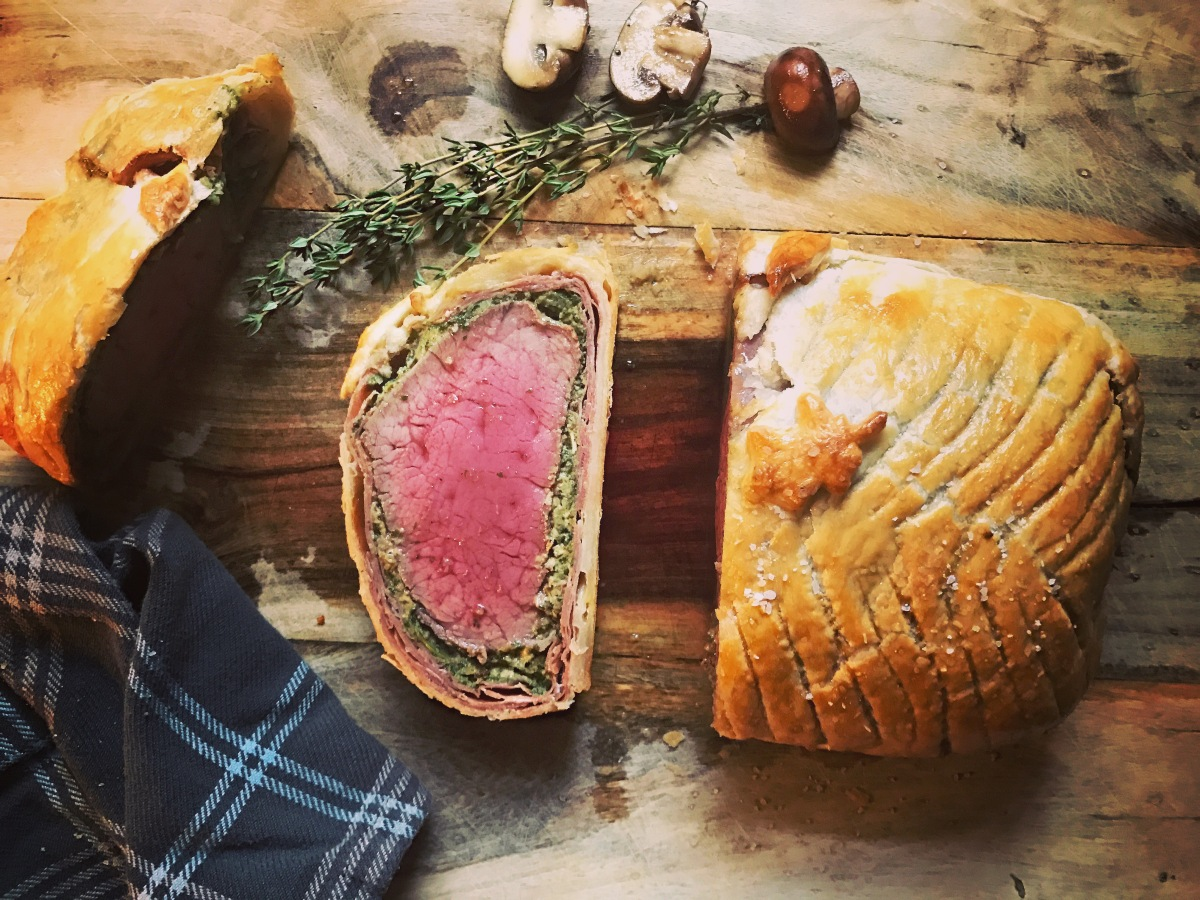 A First Attempt at Beef Wellington