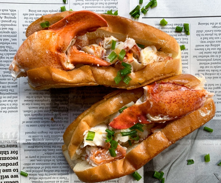Lobster Rolls in Brown Tarragon Butter