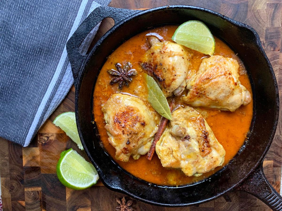 Malaysian Style Chicken