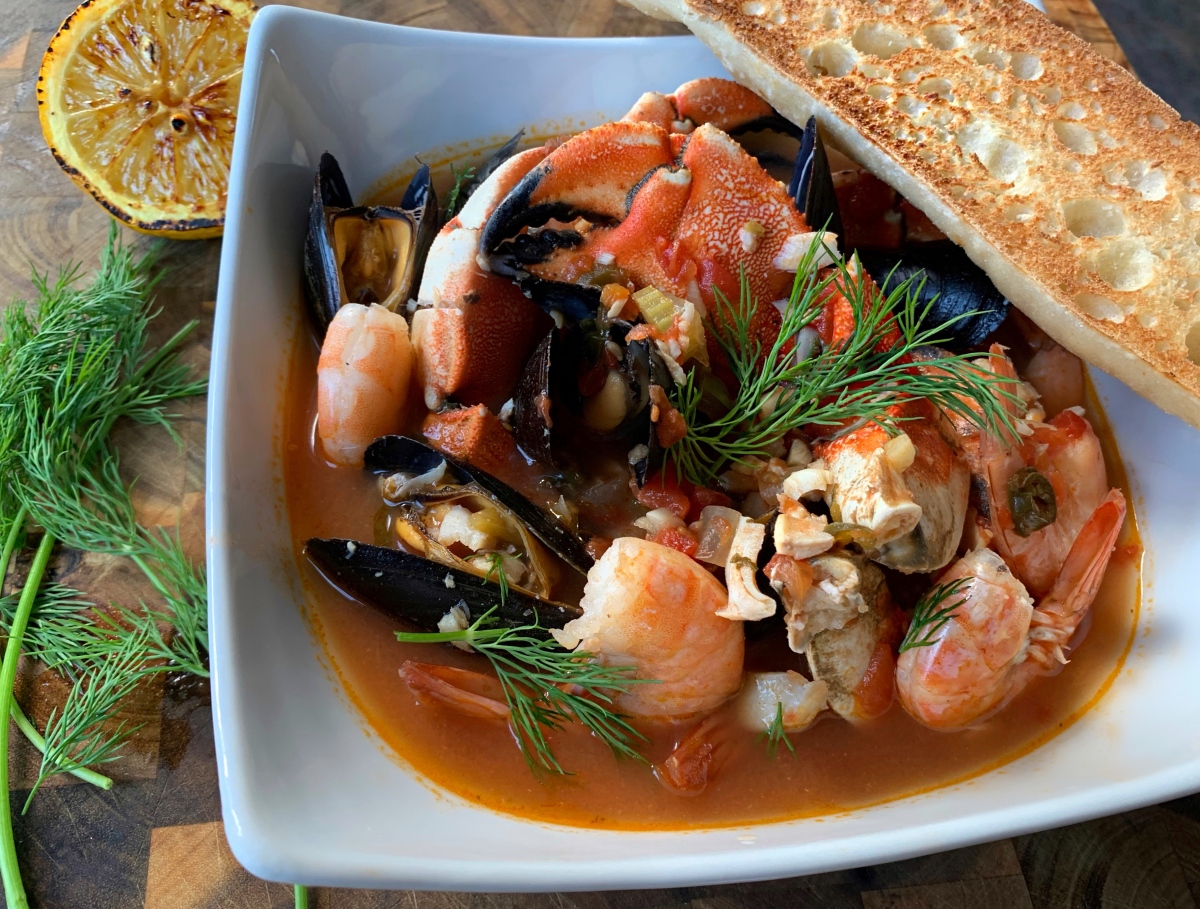 San Francisco Style Cioppino