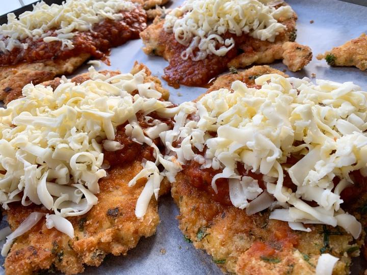 Chicken Parmsean Pre Oven