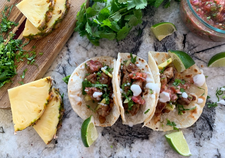 Pork & Pineapple​ Tacos