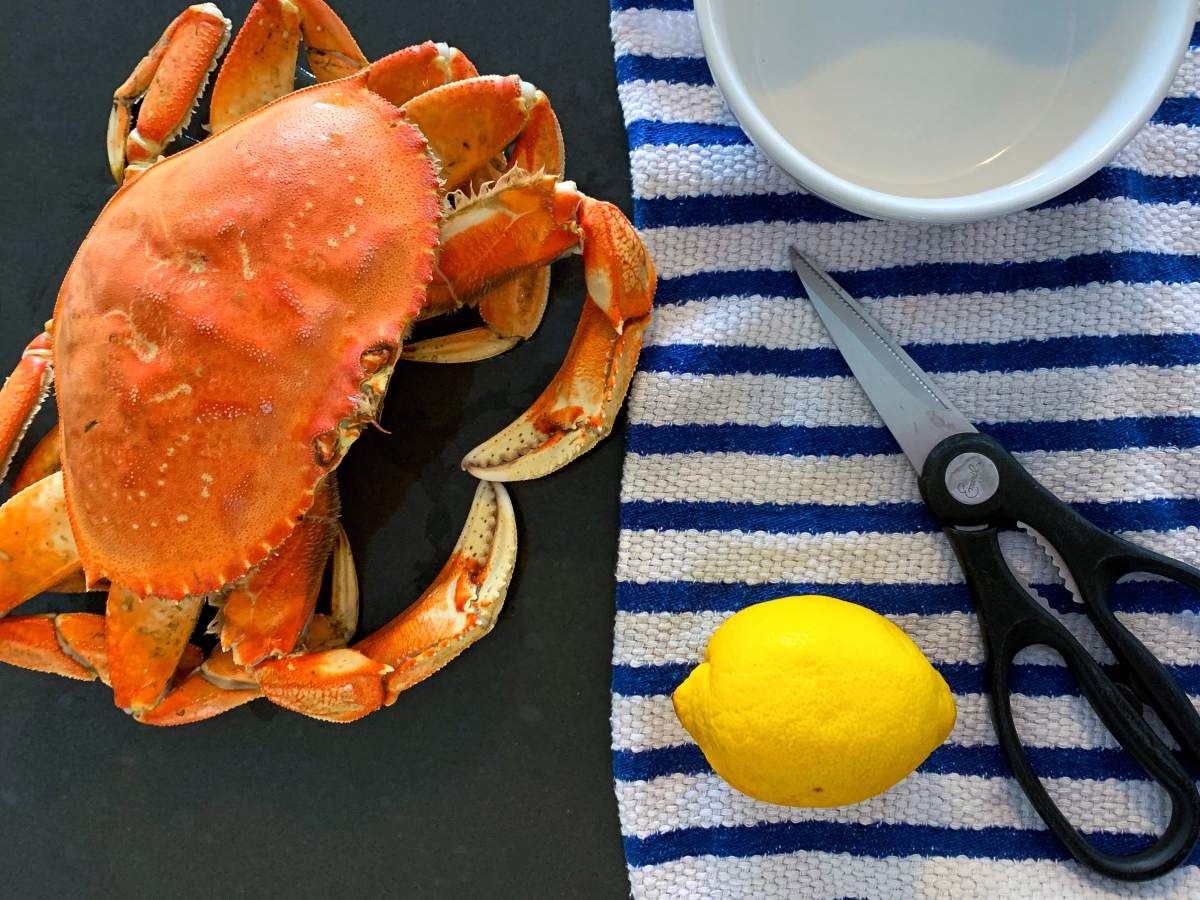 My First Time Cooking Whole Dungeness​ Crab