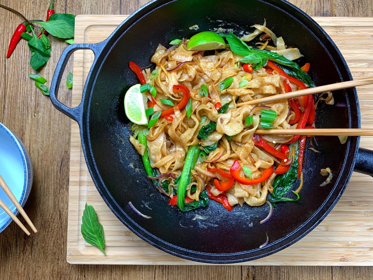Homemade Hand-Pulled Noodles