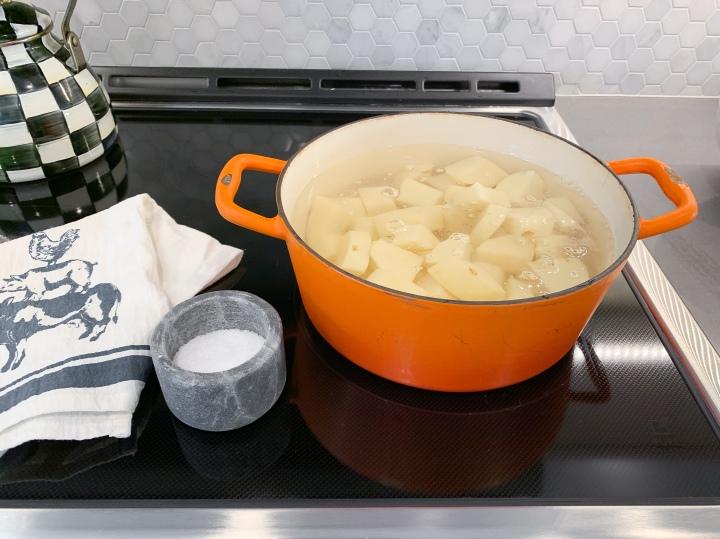 Potatoes Boiling